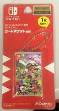 Nintendo Switch Card Pocket mini - Splatoons 2 - CASE ONLY
