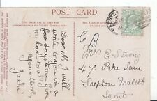 Family History Postcard - Strong - Shepton Mallet - Somerset - Ref 1777A