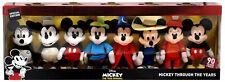 Disney Mickey the True Original Mickey Through the Years 8-Inch Plush 8-Pack