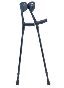 OrthoStix Adult Forearm Crutches 3 ½ inch HALF Cuff   Elbow, Canadian, Loftrand