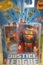 Justice League Unlimited Superman Cyber Defenders Action Figure NIP / Box S1