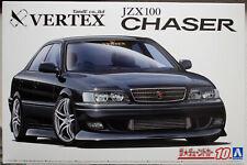 Aoshima 059814 1998 Toyota Chaser JZX 100 Vertex JDM 1:24
