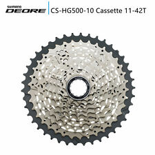 Shimano Deore CS-HG500-10 Speed 11-42T Mountain Bike Cassette MTB Bicycle HG500