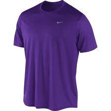 Nike Men's Challenger Short-Sleeve Running Top 362541 Purple Medium NWT