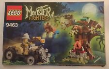 2012 LEGO Monster Fighters The Werewolf (9463) INSTRUCTION MANUAL ONLY