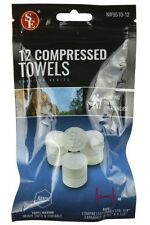 "(2 Bags) 12 Piece Compressed Hand Towels-Just Add Water; Expands to 9 1/2"" x 10"""