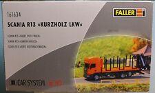 Faller 161634, Spur H0, Faller Car System LKW Scania R 13 Kurzholz