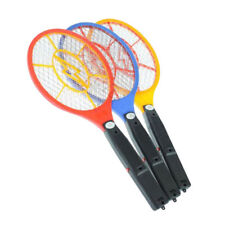 1*LED Batteries Electric Bug Pest Fly Mosquito Killer Swatter Zapper Racket J6U