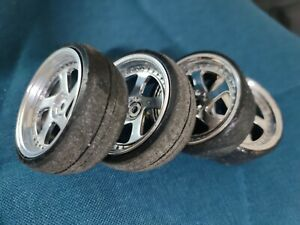 1/10 RC MST Drift/Touring/Race/Track Rims Wheels (4) off RMX 2.0 chassis