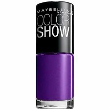 MAYBELLINE COLOR SHOW NAIL LACQUER #280 PLUM PARADISE
