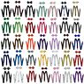 Suspender and Bow Tie Set for Adults Men Women Teens (USA Seller) 30 Selections
