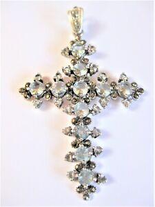 Anhänger Kreuz Silber 925, 11,18 g