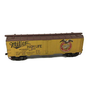 HO Miller High Life Beer Billboard Reefer Car URTC # 92160 Advertising Freight