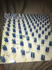 "Signed ! Hot Chip, Over And Over , 2005, 12"" Lp Scarce !"