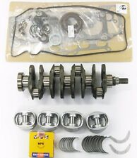 Honda 1.6 D16Y8 Crankshaft with Rebuilt Engine Kit with 4 Cont. rods1996 to 2000