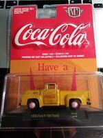 M2 Coca Cola 1956 Ford F-100 Truck YR02 2019 YELLOW