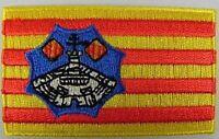 Menorca Aufnäher gestickt,Flagge Fahne,Patch,Aufbügler,6,5cm,neu