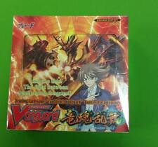 CARDFIGHT!! VANGUARD ONSLAUGHT OF DRAGON SOULS BOOSTER BOX SEALED VGE-BT02