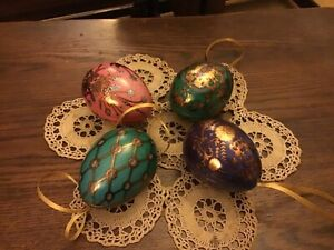Russian Egg Gift Tins , 4 assorted