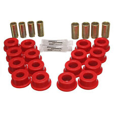 Energy Suspension Control Arm Bushing Kit 3.3145R; Red for Chevy Corvette