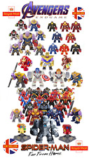 Avengers Marvel Figure Thanos Infinity Gauntlet Iron Man End Game Lego UK Seller