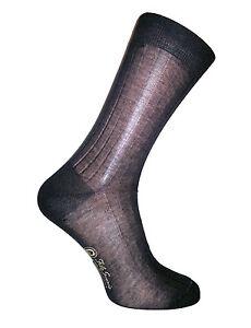Men's 100% mercerized cotton socks. Striped. Made in Italy