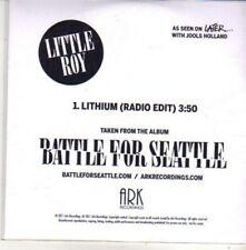 (CH328) Little Roy, Lithium - 2011 DJ CD