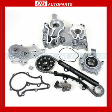 83-84 TOYOTA 2.4L CELICA PICK-UP NEW TIMING COVER CHAIN WATER & OIL PUMP KIT 22R