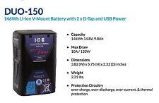 IDXDUO-150 V-Mount Li-Ionen 146Wh Akku 2x D-Tap und USB, NEU/NEW