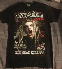 Davey Suicide God Head Killers Tshirt Men's Sz M NEW 2014