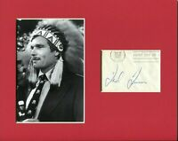 Ted Turner Atlanta Braves CNN TBS Owner Rare Signed Autograph Photo Display