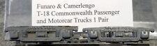 LMH Funaro F&C T-18 T18 COMMONWEALTH Passenger Motorcar Car TRUCKS  4-Wheel 1-pr
