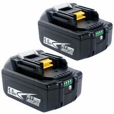 Biswaye 2Pack 5 0Ah 18V Lithium Battery BL1830B BL1850B for Makita 18-Volt LX...