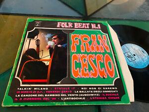 LP 1970 Francesco Guccini – Folk Beat N.1