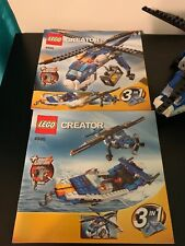 Lego Creator 3 in 1 Helicopter Plane and Boat 4995