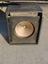 Vintage Fender Musicmaster Bass Amp Cabinet With Speaker