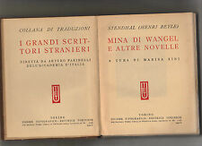 sthendal(henry beyle) mina di wangel e altre novelle - UTET -- 1bis0309 -6 46