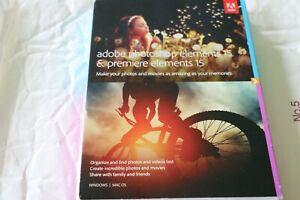 Adobe : Photoshop Elements 15 & Premiere Elements 15