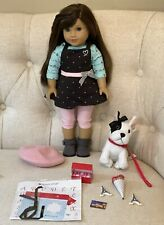 American Girl Doll Grace, French Bulldog dog, Dog Baking outfit Bundle lot