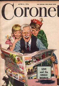 1949 Coronet April-Karsh photos of Helen Keller; The Newsboy; Chicago's Hoodlums