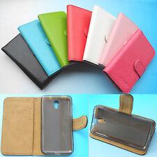 Pour Lenovo Smartphone-Wallet Folio Etui housse coque Case Cover cuir