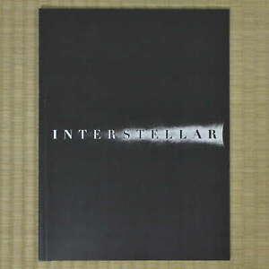 Interstellar Japan Movie Program 2014 Ellen Burstyn Christopher Nolan