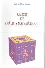 Curso de análisis matemático 2. NUEVO. Nacional URGENTE/Internac. económico. MAT