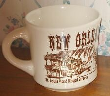 NEW ORLEANS CUP Jackson Square Riverboat French Quarter Made in England La