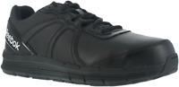 Reebok RB3501 Men's Black Steel Toe Slip Resistant Cross Trainer Work Shoes~