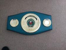 IBO and wbo boxing belts