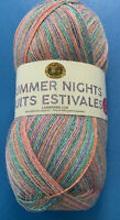 Lion Brand Summer Nights Bonus Bundle Wildflowers 512-310 Super Fine; 875 Yds