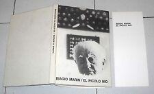 BIAGIO MARIN El picolo nio - La Stretta Prima edizione 1969 + dizionario Poesie