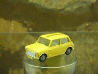 CLASSIC VINTAGE CORGI No 226 MINI MINOR in Yellow 'Colmans Mustard'