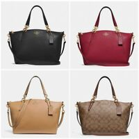 NEW Coach F36675 F26917 Small Kelsey Satchel In Pebble Leather Crossbody Bag